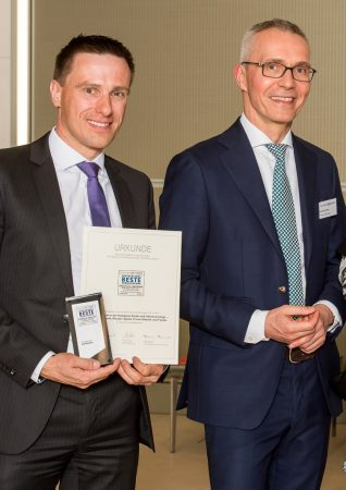 """Continentale Lebensversicherung: Vierfach mit Award """"Deutschlands Beste Versicherungen"""" prämiert"""