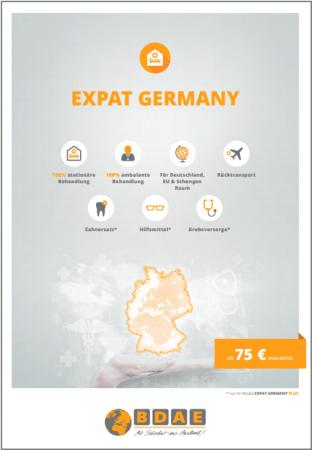 Auslandsexperte BDAE mit neuer Krankenversicherung für Ausländer in Deutschland