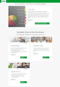 Screenshot Auswahl Firmen Digital