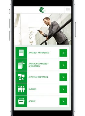MyBusinessApp – Schneller und einfacher zur Angebotsanfrage für Firmenversicherungen