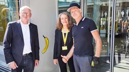 Eine Banane für die LVM