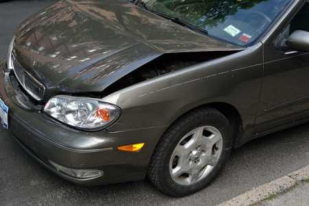 Schadenabwicklung nach einem Autounfall