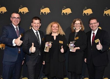 Thomas Fritzsche, Dr. Arne Barinka, Ramona Paul, Jessica Pigulla und Dr. Detlef Merbach (v.l.n.r.)