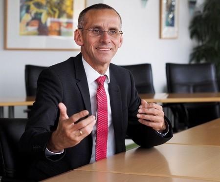 Vorstandvorsitzenden Uwe Ludka