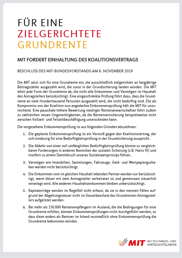 1573107436 20191106 Beschluss Grundrente pdf image