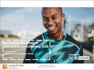 Marketing-Mix-Analyse Zahnzusatzversicherung 2020_300