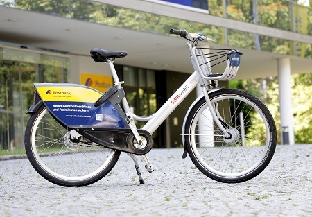 Postbank - nextbike Fahrrad