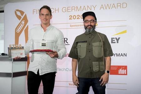 Getsafe gewinnt Fintech Germany Award 2020