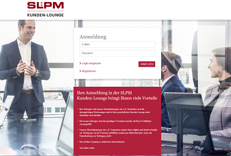 SLPM Kunden-Lounge