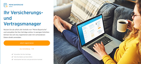 Die Versicherungsgruppe die Bayerische bietet ihren Kunden und Beratern künftig einen voll digitalen Service an
