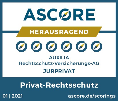 ASCORE Siegel Auxilia Privat RS JURPRIVAT gueltig bis 12.2021 1