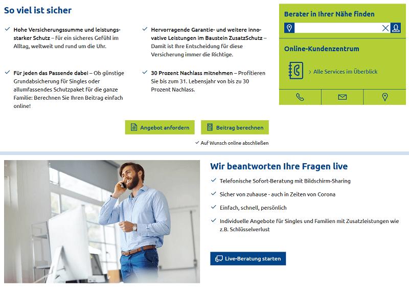 kontakt versicherungskammer bayern