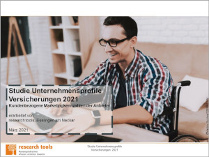 Studie Unternehmensprofile Versicherungen 2021 300