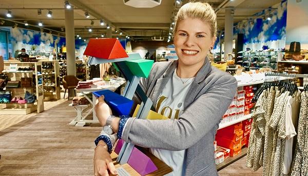 Bild 1 Anne Steffens Springer in einem der Haeuser Steffens