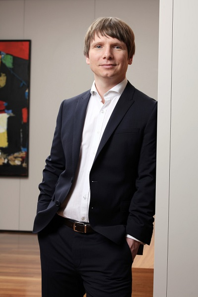 Daniel Schmalley Leiter des Competence Centers Firmenkunden der Barmenia