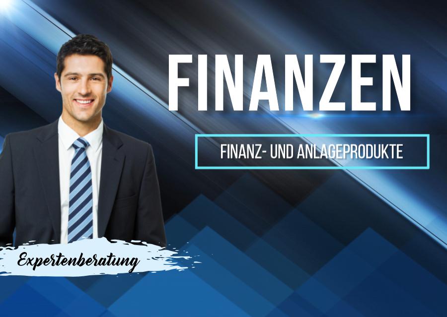 finanz anlageprodukte