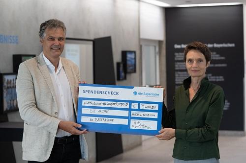 Dr. Herbert Schneidemann und Heidi Graf