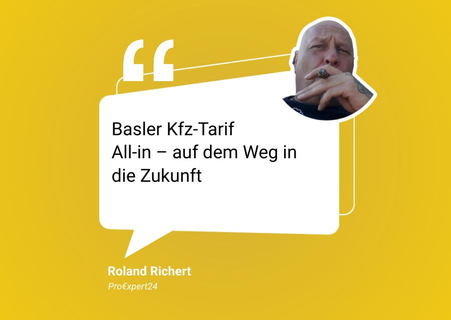 Basler Kfz Tarif All in – auf dem Weg in die Zukunft
