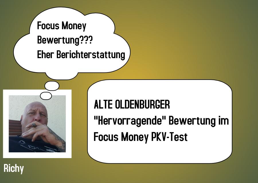 Bewertung im Focus Money PKV Test