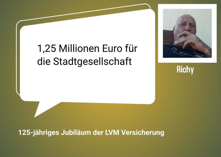 LVM Versicherung startet in die Jubilaeumswoche