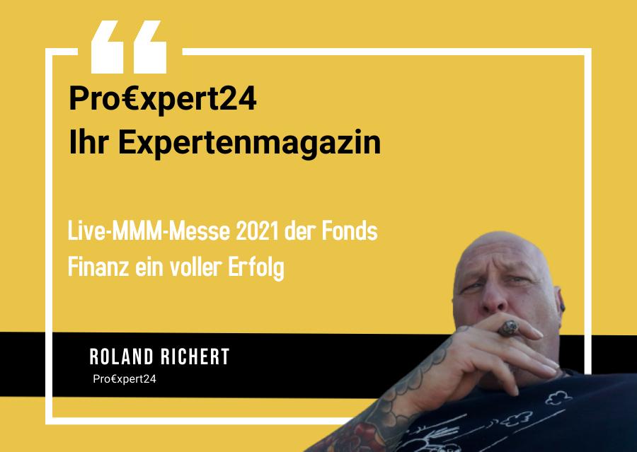 Live MMM Messe 2021 der Fonds Finanz ein voller Erfolg